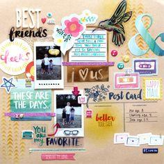 Birthday Presents Ideas For Best Friend Scrapbook 52 Ideas Scrapbook Cover, Scrapbook Journal, Diy Scrapbook, Scrapbook Albums, Birthday Scrapbook Pages, Best Friend Book, Best Friend Gifts, Sister Gifts, Best Friend Birthday Present