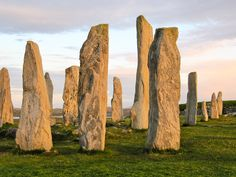 Stones of Callanish, Isle of Lewis. Sunset. My most favorite place in the world!!