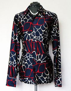 Vintage navy secretary - this must be in my closet!