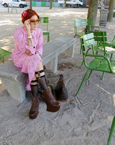 The wardrobe of Ms. B: Pink in Paris
