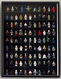 Lego Minifigure Display: Star Wars