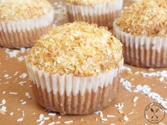 Muffiny kokosowe – Wędrówki po kuchni Fun Cupcakes, World Recipes, Scones, Food And Drink, Cooking Recipes, Good Food, Breakfast, Sweet, Kuchen
