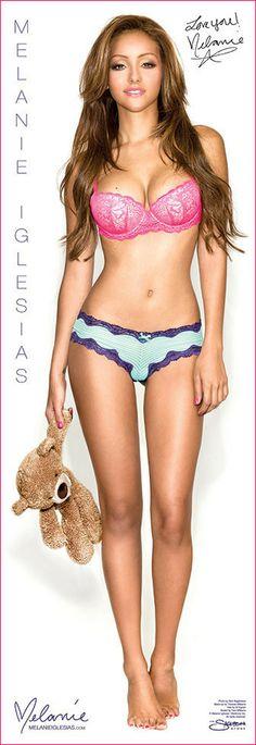 "Melanie Iglesias LIFESIZE Bedtime w/ Teddy - 24""x69"" Poster - AUTOGRAPHED – Melanie Iglesias Store"