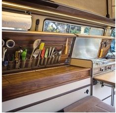 Creative & Unique Sprinter Van Conversion Interiors To be safe, it's probably far better to book a bigger van than you think is vital to hold every one of your items. So the new van is all about 6 highe… - Creative Vans Sprinter Camper, T3 Camper, Campers, Campervan Interior, Rv Interior, Interior Design, Campervan Ideas, Campervan Hire, Minivan Camper Conversion