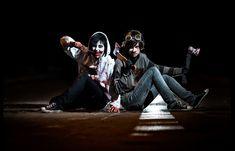 Jeff The Killer and Ticci Toby Cosplay - Creepypasta