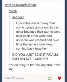 Soul mates, scientifically explained
