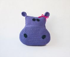 Hippo Pillow Pattern $3.99