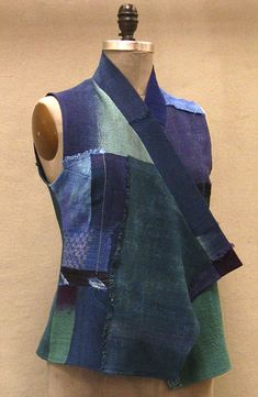 Green/Purple Vest | Holly Badgley Design