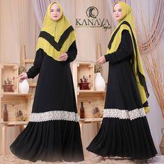 Hawwa Syari by Kanaya Kebaya, Dresses With Sleeves, Long Sleeve, Fashion, Lace, Moda, Full Sleeves, La Mode, Gowns With Sleeves