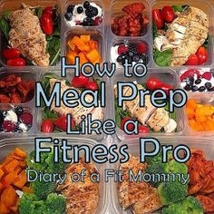 How to Meal Prep Like a Fitness Pro
