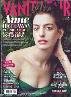 Anne Hathaway in Italian Vanity Fair magazine
