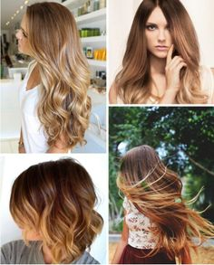 Caramel Hair Colours
