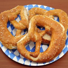 These homemade pretzels are a great snack that can be served with dip or on their own.