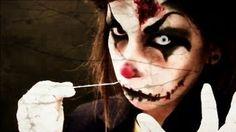 † HALLOWEEN : Maquillaje payaso diabólico (Killer Clown Makeup)