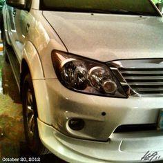 洗車終了〜 finish washing our #car 1 down! #toyota#fortuner#philippines#フィリピン#トヨタ