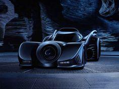 Batman and Batman Returns - Batmobile 1989
