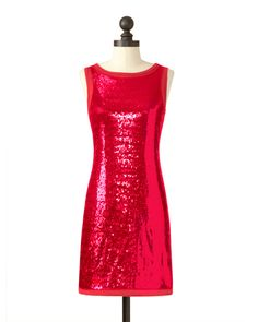 Kansas City Chiefs | Sequin Tank Dress | Stacy Keibler - 'Always a Fan' Collection | meesh & mia