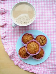 coffee and ginger cupcakes