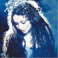 Glamour Mermaids / karen cox.  this picture of sarah brightman always made me thing of mermaids