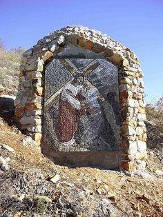 krizni put mozaik | PROJEKT PUT KRIŽA Drago Bušić