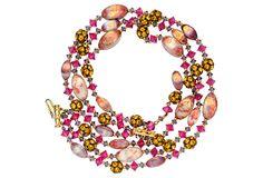Hattie Carnegie Beaded Necklace on OneKingsLane.com