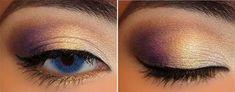 25 Gorgeous Eye Makeup Tutorials For Beginners of 2019 101 Eye Make Up Tutorials From Around The World Summer Eye Makeup, Purple Eye Makeup, Yellow Eyeshadow, Eyeshadow Looks, Kiss Makeup, Beauty Makeup, Beauty Tips, Natural Smokey Eye, Day Makeup Looks