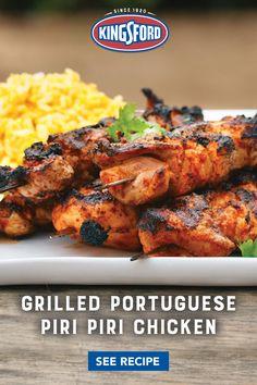 Turkey Recipes, Chicken Recipes, Dinner Recipes, Grilling Recipes, Cooking Recipes, Healthy Recipes, Comida Keto, Piri Piri, Good Food