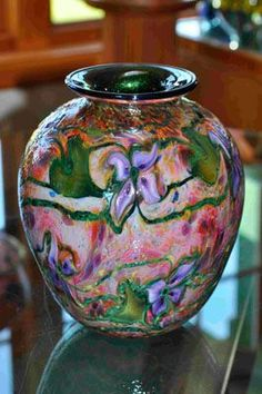 Opal Cypriot Bowl by Charles Lotton