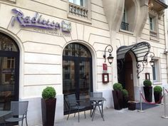 Review of Radisson Blu Hotel Champs Elysees in Paris - Mommy Points