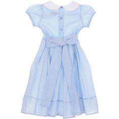 ISABEL GARRETON Peter Pan Collar Dress ($132) ❤ liked on Polyvore