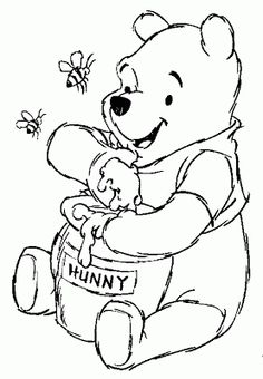 Honey Winnie the Pooh Sketches | winnie the pooh and i have one thing in common