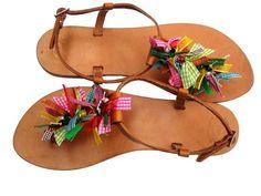 Kleurrijke zomer sandalen van I-love-schuhs via http://nl.dawanda.com/