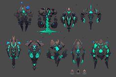 Dmitry Klyushkin : concepts freelance by Dmitry Klyushkin on ArtStation. Game Character Design, Fantasy Character Design, Character Design References, Character Design Inspiration, Character Concept, Character Art, Game Concept, Monster Design, Monster Art