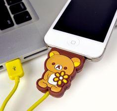 Rilakkuma iPhone Charger