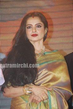 Luv is son of Shatrughan Sinha and he debuts with the film 'Sadiyan' which also stars Rishi Kapoor. See the pics of Bollywood actress Rekha in silk saree at sadiyaan music launch.