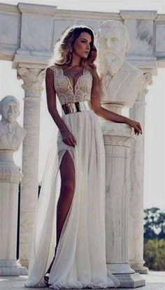 white and gold prom dresses tumblr 2016 » Free Wedding Board