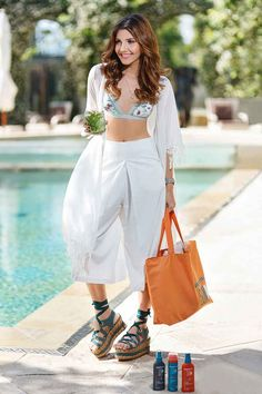 If you're looking for cute and trendy swim wear combinations for this hot summer, here you can find pretty and interesting combinations you might like. Hot fashion combinations like the hot summer heat!
