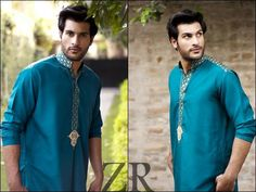 Latest New Zayn Rashid Winter Kurta Designs 2013 For Men