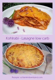 low carb Kohlrabi-Lasagne - die beste Lasagne :-) #schlankmitverstand #abnehmen #lowcarb #Rezepte #Food #kochen #Fitnessfood #Healthyfood #Foodblog