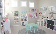 This week's readers' favorite space from the Project Gallery features nooks, baskets, and super cute shelves for every crayon, play food and doll.