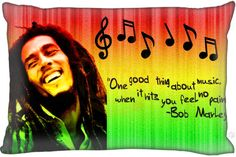 UKPI-F53  Top Selling Bob Marley  Custom Zippered Rectangle Pillowcases Pillow Cover Cases Size 40x60cm (Two sides) #Affiliate