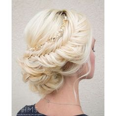 Wedding Hairstyles from Hair & Makeup by Steph ❤ liked on Polyvore featuring beauty products, haircare, hair styling tools, hair, hair styles and hairstyles