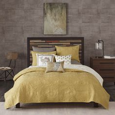 Chenille bedspreads in gray details about king 100 cotton chenille fringed bedspread bedding for Ashfield 6 piece queen storage bedroom set