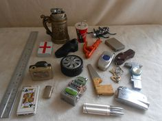 Collection of novelty lighters - rare