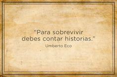 El 16 de enero de 2016 nos sorprendió con la muerte de Umberto Eco. | 9 Frases de Umberto Eco que vivirán por siempre
