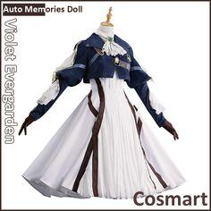 Anime Auto Memories Doll figure Violet Evergarden Retro Victoria Lolita Dress Halloween Cosplay Costumes for women New free ship