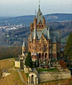 Dragon Castle, Drachenburg Castle, Germany.