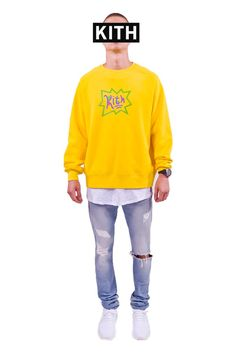asics sweatshirt womens yellow