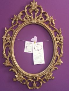 Purple and gold wedding.. Invitations by Danielle Design