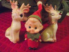 HALF Price: Trio of VIntage Christmas by KathysRetroKorner on Etsy